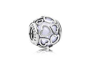 Pandora Opalescent Encased in Love Charm - 792036NOW