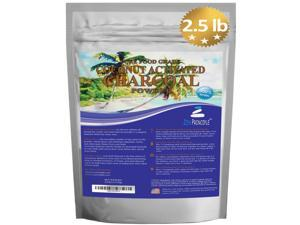 Coconut Activated Charcoal Powder 2.5 lb pouch