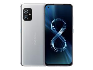 ASUS ZenFone 8 (ZS590KS) 8G/128G Unlocked 5G Smartphone (GSM only, No CDMA)  Horizon Silver