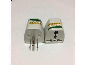 3 Pin US Travel Adapter American Universal Outlet Power Plug US UK AU Plug Converter Adapter Power Charger Connector