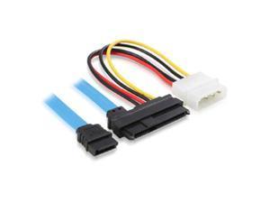 SAS Serial Attached SCSI SFF-8482 to SATA  7 Pin SATA Serial ATA to SAS 29 Pin and 4 Pin Power Adapter Connector Cabl