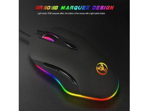 Wired usb 4800 DPI High Precision Gaming Mouse for PC