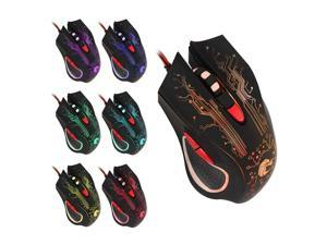 6D 6 Keys Gaming Optical Desktop Computer Laptop PC Mice for Wired