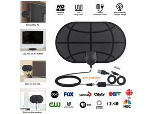 Digital TV Antenna 4K 1080P VHF UHF Freeview Local Channels With Detachable Amplifier Signal Booster Coax Cable