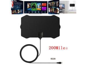 200 Mile TV Digital HD Skywire 4K Range Antena Digital Indoor HDTV Antenna 1080P