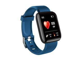 116plus Color Screen Smart Wristband D13 Real-time Heart Rate 1.3 Inch Large Screen Blood Pressure Sleep IP67 Waterproof Smart Wristband