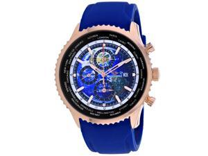 Seapro Men's Meridian World Timer GMT Blue Dial Watch - SP7522