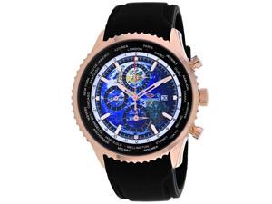 Seapro Men's Meridian World Timer GMT Blue Dial Watch - SP7523