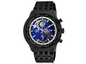 Seapro Men's Meridian World Timer GMT Blue Dial Watch - SP7322