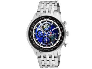Seapro Men's Meridian World Timer GMT Blue Dial Watch - SP7320