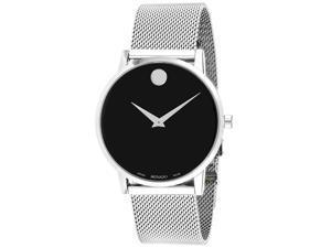 Movado Men's Museum Black Dial Watch - 607219