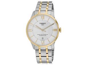 Tissot Men's Chemin Des Tourelles Silver Dial Watch - T0994072203800