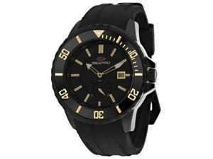 Seapro Men's Force Black Dial Watch - SP0514