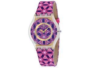 Swatch Women's Vetrata Multi color Dial Watch - SFW108