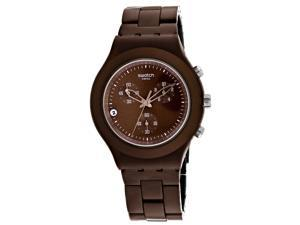 Swatch Men's Full Blooded Stoneheart Brown Dial Watch - SVCC4000AG