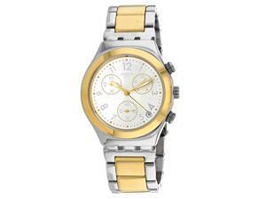 Swatch Men's Dreamnight Silver Dial Watch - YCS590G