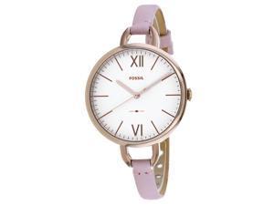 Fossil Women's Annette White Dial Watch - ES4356
