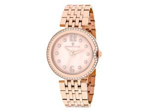 Christian Van Sant Women's Jasmine Rose gold MOP Dial Watch - CV1614