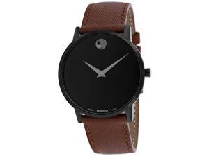 Movado Men's Museum Classic Black Dial Watch - 607198