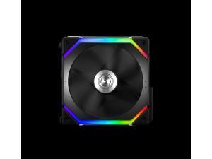 LIAN LI UNI FAN SL120 RGB BLACK ---UF-SL120-1B(No controller included )