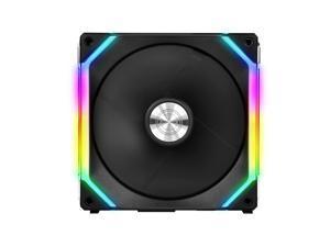 LIAN LI UNI FAN SL140 RGB BLACK ---UF-SL140-1B(No controller included )