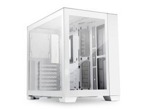 LIAN LI O11DMINI SNOW WHITE - White SECC / Aluminum /Tempered Glass/ ATX, Mirco ATX , Mini itx Mini Tower Computer Case - O11D MINI -S