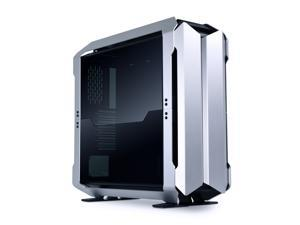 LIAN LI Odyssey X Silver  Tempered Glass on the Left and Right  Sides, Aluminum Full  Tower Gaming Computer Case - TR-01A