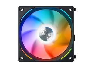 LIAN LI UNI FAN AL120 RGB BLACK 1X 12CM FAN SINGLE PACK WITHOUT CONTROLLER  ---UF-AL120-1B