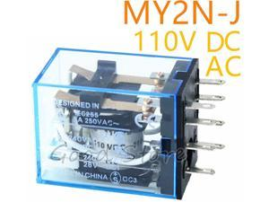 Enthusiastic Hh52p My2nj 8 Pin Screw Terminals Power Relay Socket Base Holder High Quality Relays