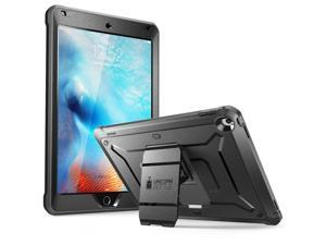 SUPCASE  Unicorn Beetle Pro Series  Case Designed for iPad 9.7 2018 / 2017, with Built-In Screen Protector and Dual Layer Full Body Rugged Protective Case for iPad 9.7 5th / 6th Generation (Black)