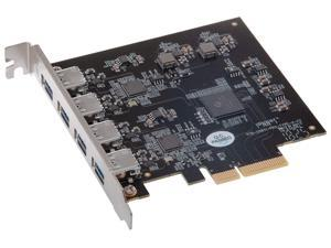 Sonnet Allegro Pro USB 3.2 Type A PCIe Card (Four SuperSpeed 10Gbps USB Connectors)