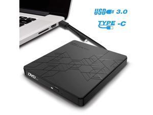 Valoinus External CD Drive USB 3.0 Portable CD//DVD //-RW Drive Slim DVD//CD ROM Rewriter Burner Compatible with Laptop Desktop PC Windows Linux OS Apple Mac