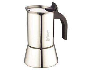 Bialetti 10 Cup Venus Stainless Steel Stovetop Espresso Coffee Maker Induction