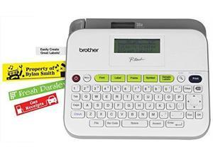 Brother P-touch PTD400VP Versatile Label Maker with Carry Case