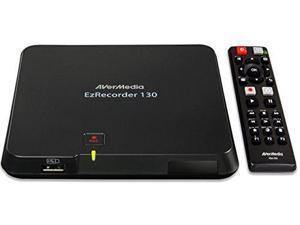 AVerMedia EzRecorder, HD Video Capture High Definition HDMI Recorder, PVR, DVR, Schedule Recording, 32GB Flash Drive Incl  (ER130)