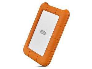 LaCie Rugged SECURE 2TB External Hard Drive Portable Model STFR2000403
