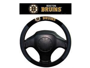 fremont die nhl boston bruins polysuede steering wheel cover