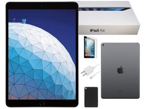 Apple iPad Air Space Gray 128GB 9.7-inch Wi-Fi +4G Verizon - Plus Bundle