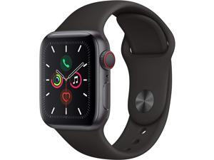 Apple Watch Series 5 44mm   Aluminum   Space Gray   Rubber Sport Band