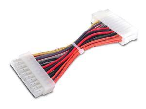 6in 20 Pin Motherboard to 24 Pin ATX Power Adapter - M/F