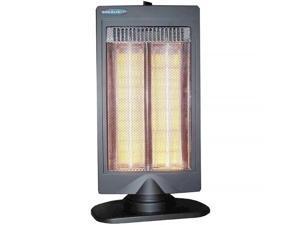 Soleus HR30821 Halogen Heater with Flat Panel Design and 2 Heat Settings