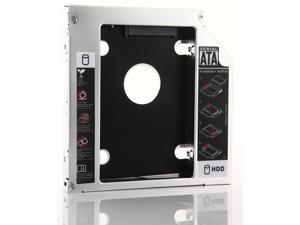 2nd 12.7mm SATA HDD SSD Hard Drive Caddy Optical CD Bay Adapter for Asus K53SV K53SV-SX513V