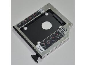 """2.5"""" 9.5mm SATA 2nd HDD SSD HARD DRIVE Caddy Adapter for DELL Latitude E6400 E6500 E6410 E6510; DELL Precision M2400 M4400 M4500"""