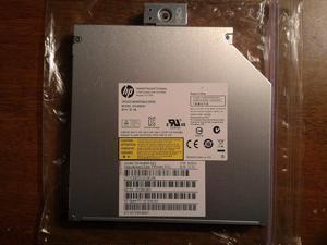 HP/Lite-On DS-8A8SH 8x DVD±RW DL Slim Multi Burner Writer Internal SATA Drive For Notebook/Laptop PC (Black) - Bulk Packaged