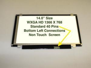 """14"""" WXGA Matte Laptop LED Screen For IBM 04W3329"""