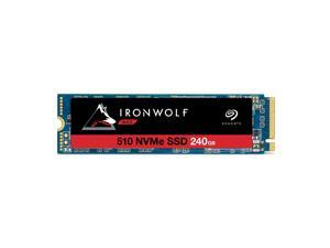 Seagate IronWolf 510 240GB NAS SSD Internal Solid State Drive – M.2 PCIe for Multibay RAID System Network Attached Storage, 2 Year Data Recovery (ZP240NM30011)