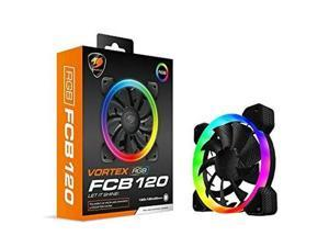 Cougar Hydraulic Vortex RGB FCB 120 mm Cooling Fan with Support for Cougar Core Box