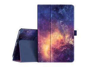 "Fintie Case for Lenovo Tab M8 HD/Smart Tab M8 / Tab M8 FHD, Premium PU Leather Folio Cover for Lenovo Tab M8 HD TB-8505F TB-8505X/Smart Tab M8 TB-8505FS / Tab M8 FHD TB-8705F 8"" Tablet, Galaxy"