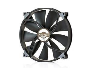 Phanteks PH-F200SP_BBK, 200mm Premier Case Fan, Frame/Blades, Black