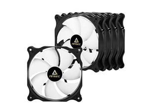 Antec 120mm Case Fan, PC Case Fan High Performance, 3-pin Connector, PF12 Series 5 Packs